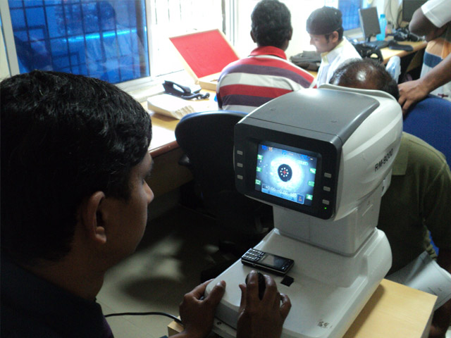 Electronic Eye Checkup
